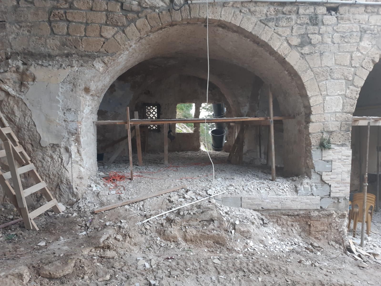 הגבלת גישה למערת אליהו בשל עבודות שיפוץ