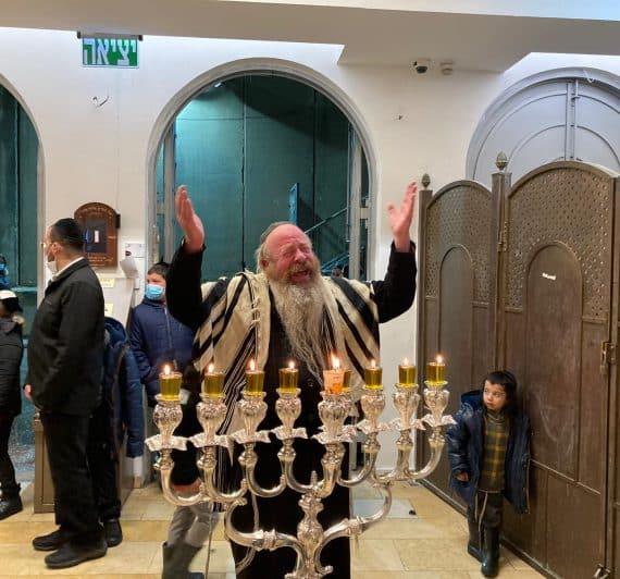 זאת חנוכה בקבר רחל אמנו הרב יעקב עדס שליט